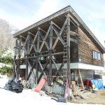 チセヌプリスキー場の休憩舎