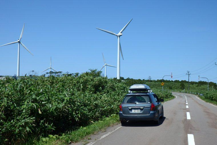島牧の風車