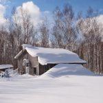 雪に閉ざされた生活
