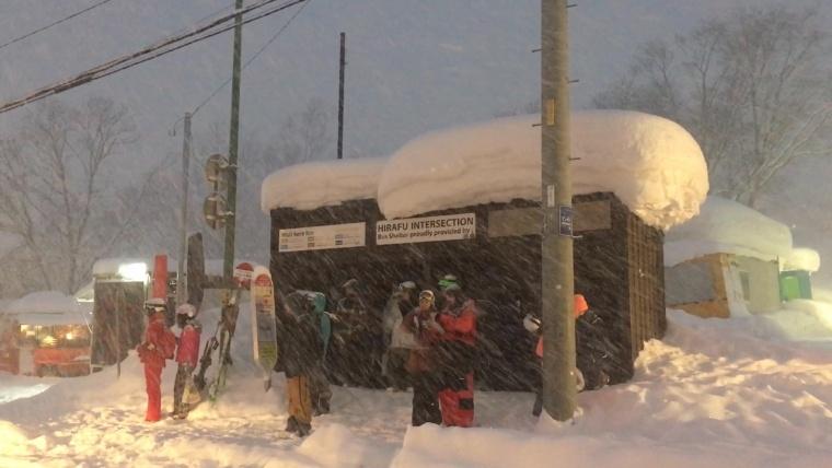 吹雪の家路