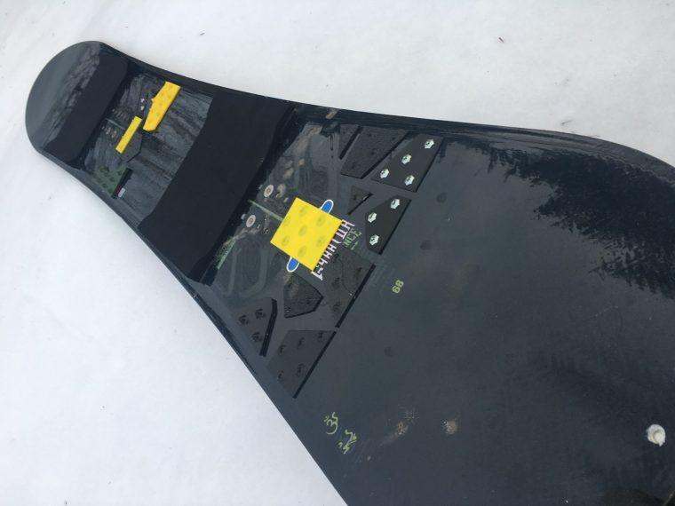 K2 GYRATOR改スノーサーフィンボード