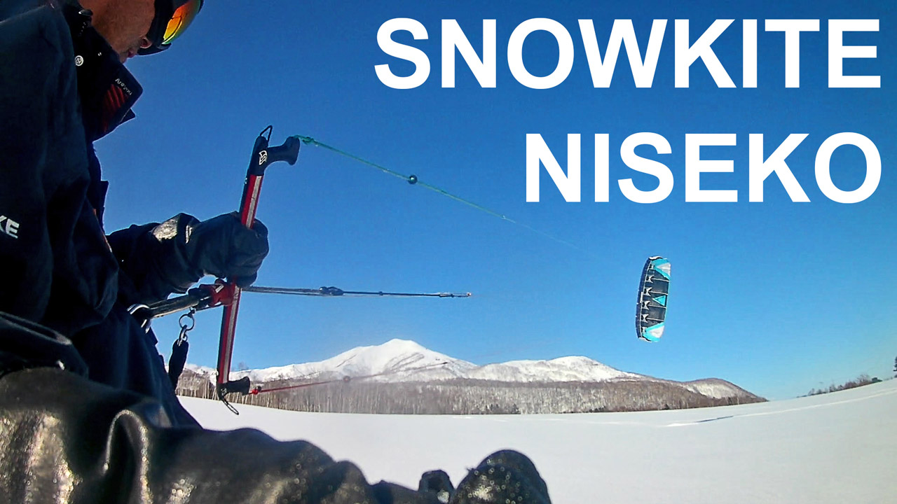 snowkite niseko
